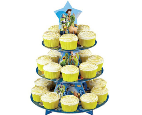cardboard 3 tiers cake stands
