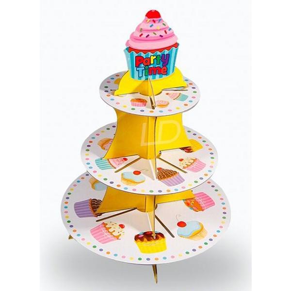 cardboard cake stand