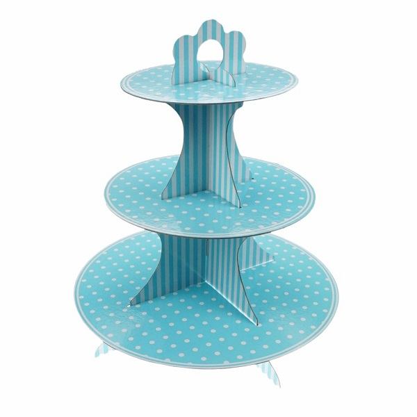 cardboard cupcake display stand