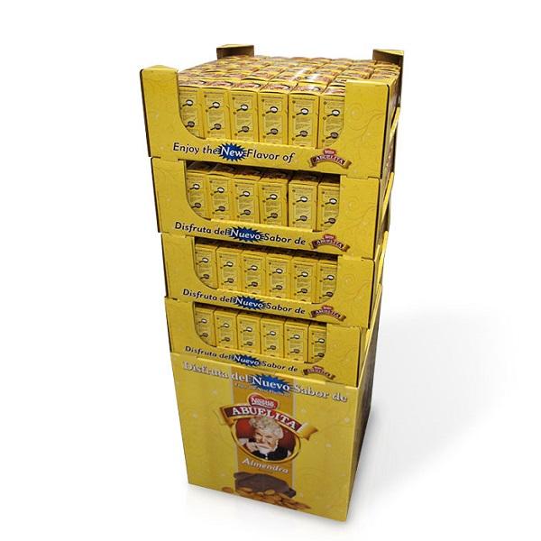 cardboard dump bins pop display