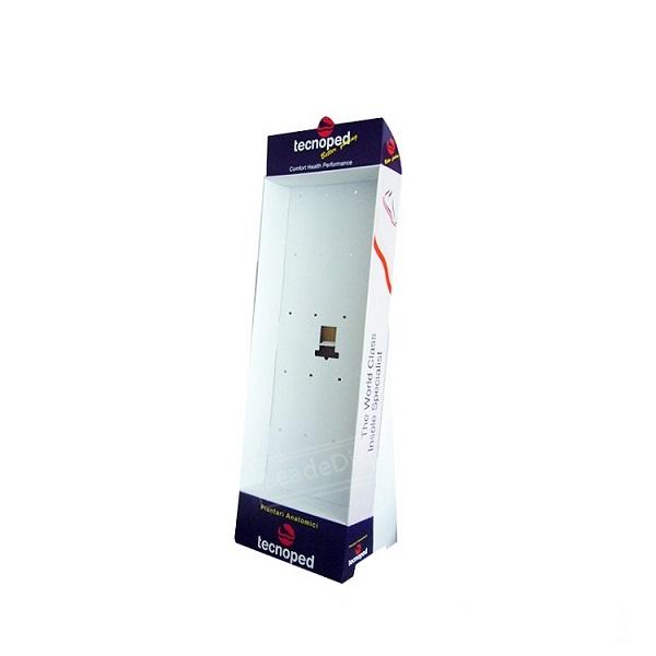 cardboard peg hook display