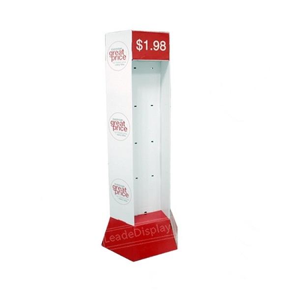 cardboard pop hook display stand