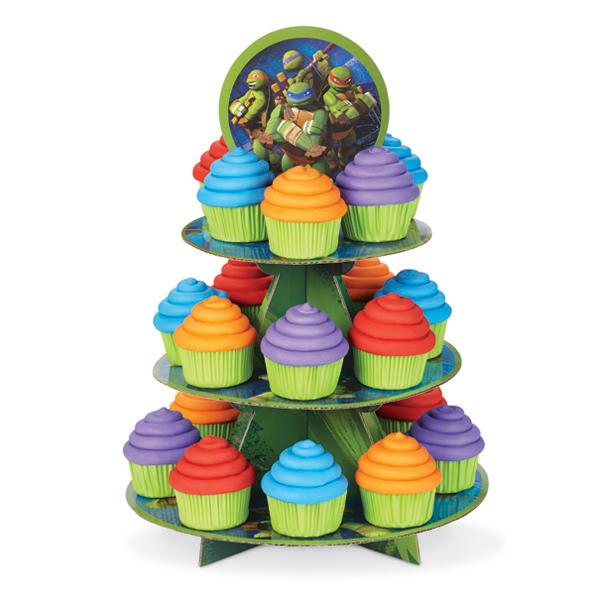cardboard wedding cupcake stand