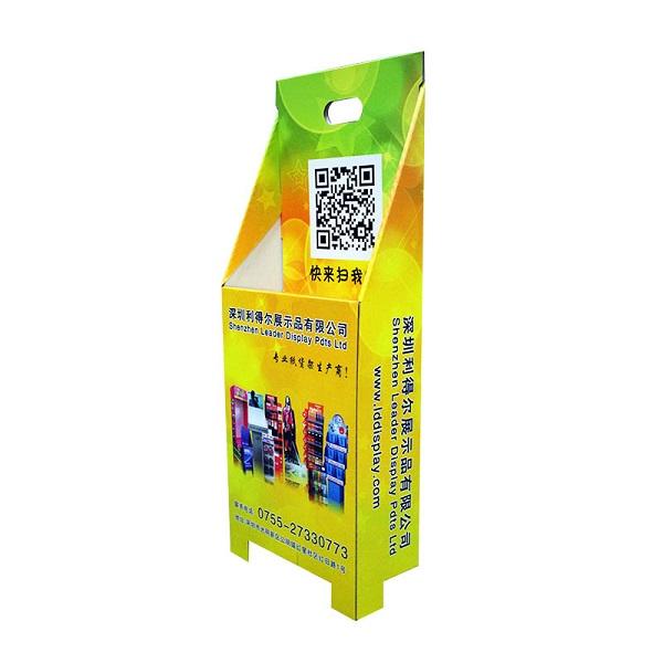 exhibition cardboard trolley case