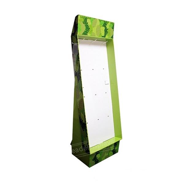 food hook cardboard display stand
