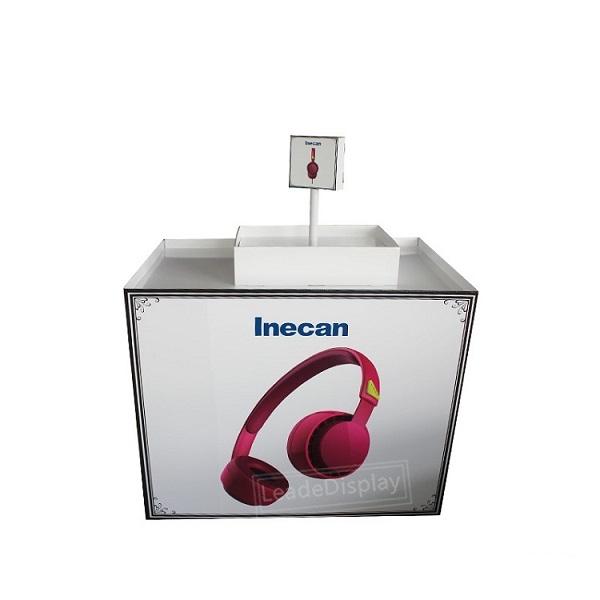 headphone cardboard pallet display