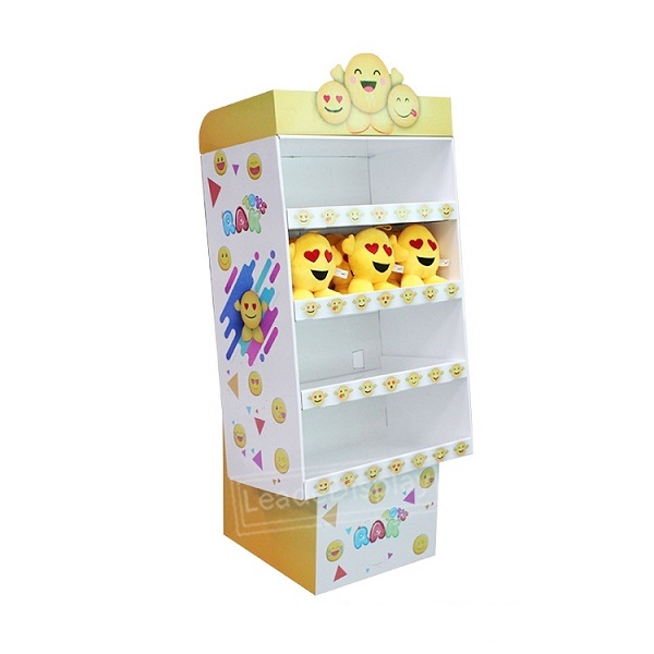 plush toys cardboard display