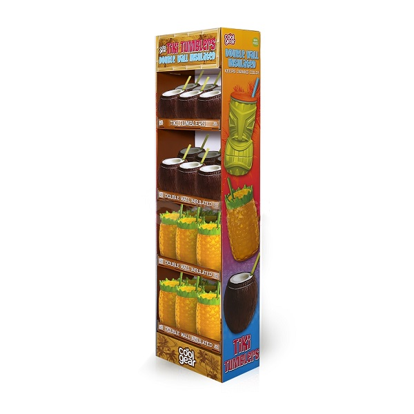 store cardboard sidekick display