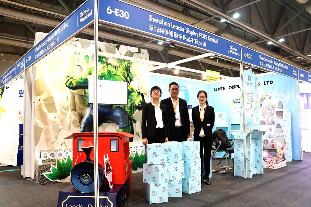 cardboard paper display stand