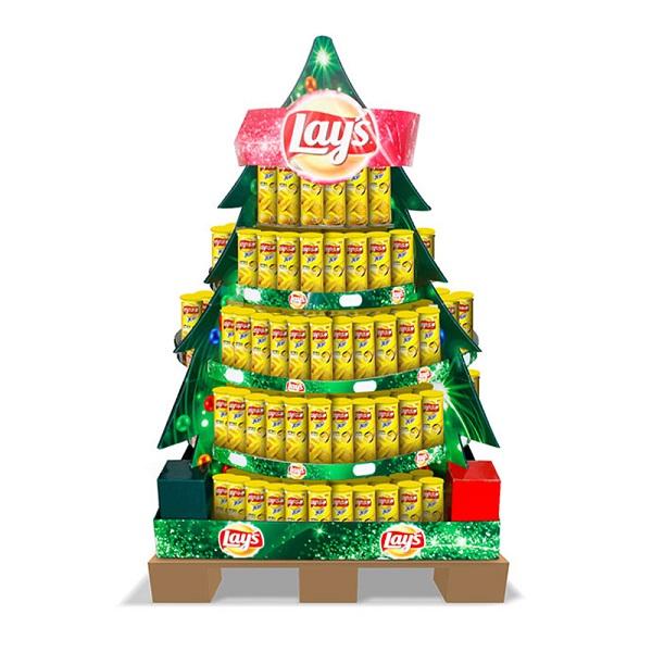 Christmas Pallet Display