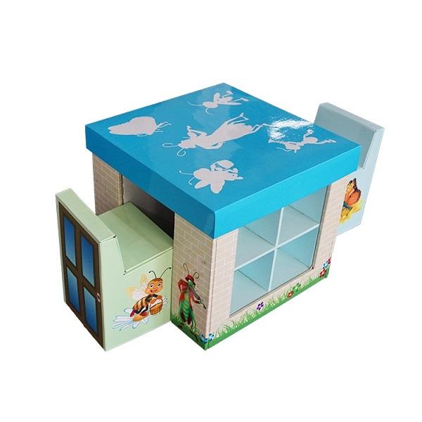 children corrugated cardboard furniture