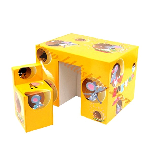 corrugated cardboard furniture for kids