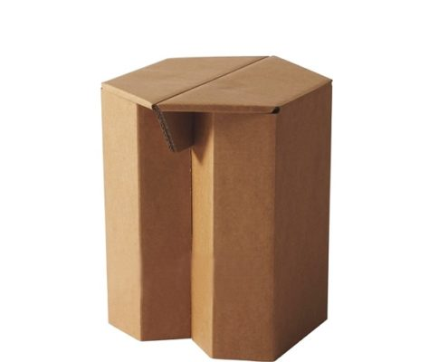 corrugated cardboard paper chair