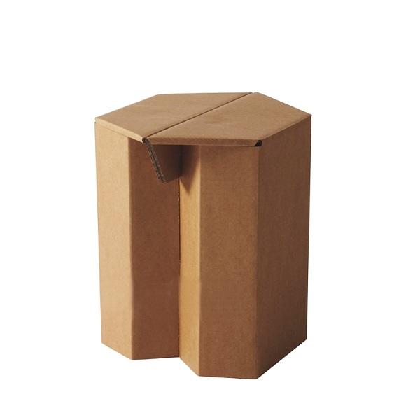 corrugated cardboard paper chair