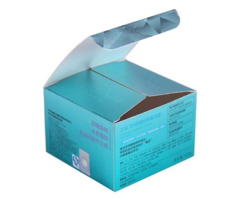 custom face cream packaging paper packing box