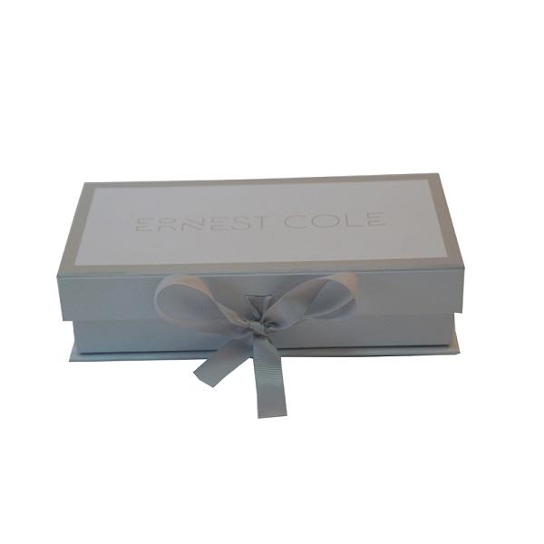 custom square white cardboard gift box