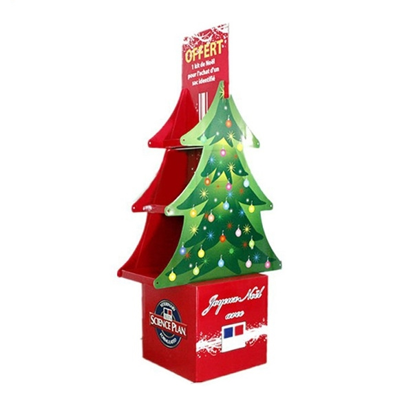 wholesale custom design Christmas tree pallet display