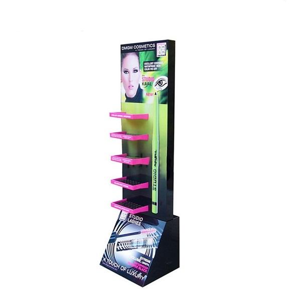 cosmetic cardboard floor display