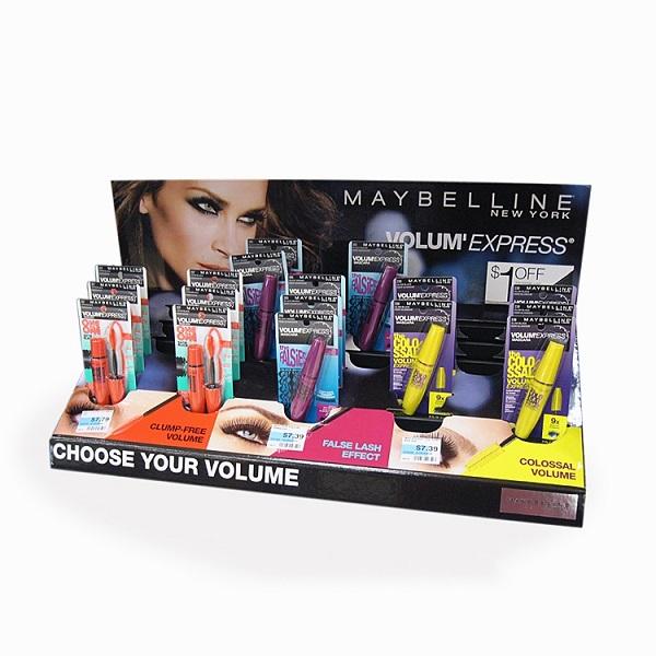 makeup cosmetic pop cardboard display