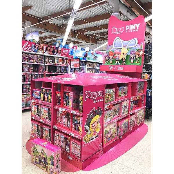 supermarket children toy display stand