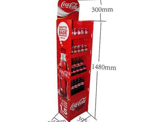 coca cola cardboard display