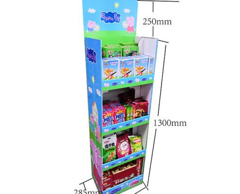 pop up display for foods