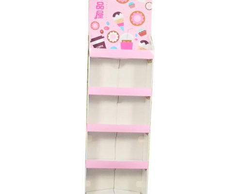 quick assemble display rack