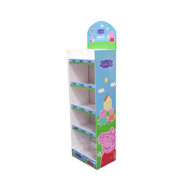 children toys cardboard display