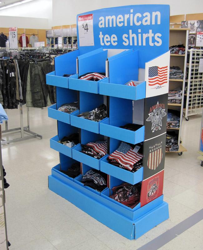 custom cardboard display stands